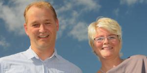 Jacob en Ellen de Jong, eigenaar van Groothandel De Jong bv.